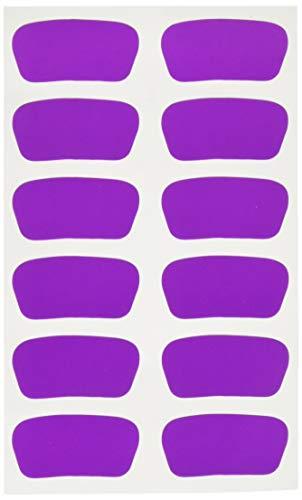 Cannon Sports Eye Black Stickers (Purple, 6 Pair) ()