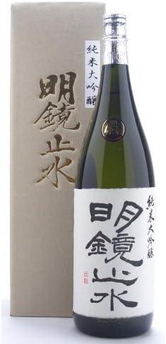 長野県 明鏡止水【めいきょうしすい】 純米大吟醸 1800ml