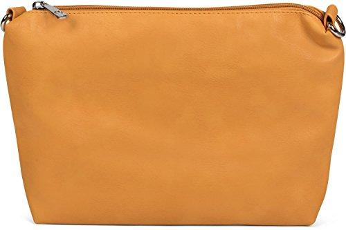 bolso styleBREAKER 2 set XXL señora bolsos trenzada Anaranjado hombro otro bolso de de de bolso dentro Color mano óptica compras para Plateado Plateado anaranjado bolso reversible en bolsos de 02012163 bolso zrPEwqaz