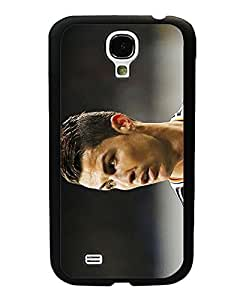 Galaxy S4 Mini Funda Case - Football Player Vintage Popular Style Drop Resistant Printed HD Pattern Hard Plastic Back Protection Compatible With Samsung Galaxy S4 Mini