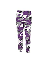 Women Camouflage Trousers, Changeshopping Sports Camo Cargo Pants Outdoor Jeans