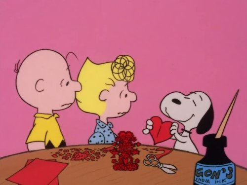 Be My Valentine, Charlie - Day Charlie Brown Valentines