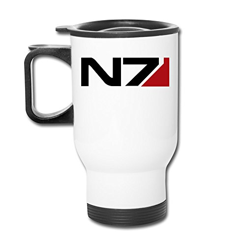 Cups Insulation White Mass Effect N7 Insulated Mugs Coffe...