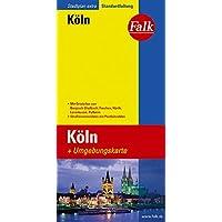 Falk Stadtplan Extra Standardfaltung Köln