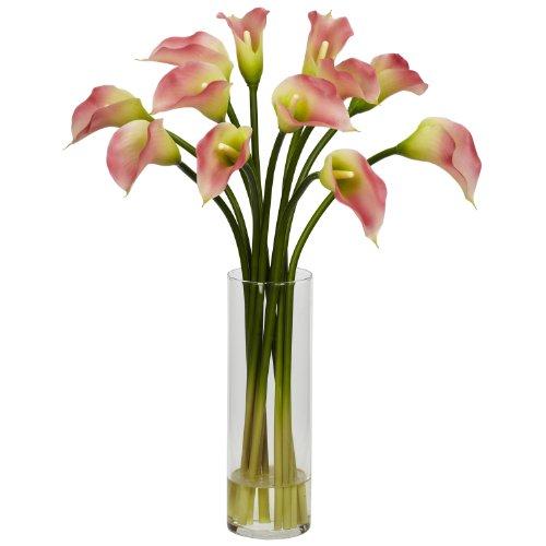 Calla Lilies Silk Flowers - 2