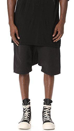 Rick Owens DRKSHDW Men's Pod Shorts, Black, Large by Rick Owens DRKSHDW