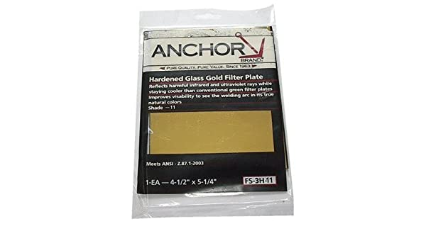 """Three Anchor 2/"""" X 4-1//4/"""" #11 Hardened Glass Filter Plate"""