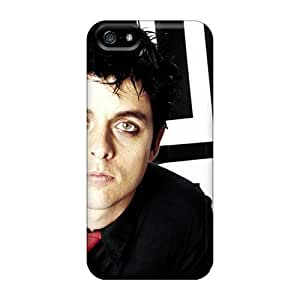 Best Hard Cell-phone Case For Iphone 5/5s With Customized Lifelike Green Day Pattern PhilHolmes