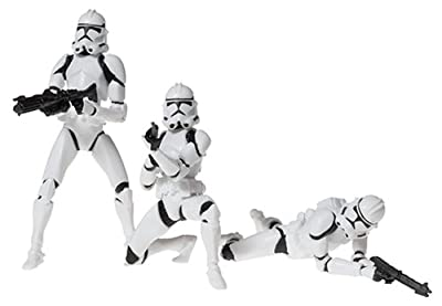 Star Wars: Revenge of the Sith Deluxe > Clone Trooper Army Action Figure Multi-Pack