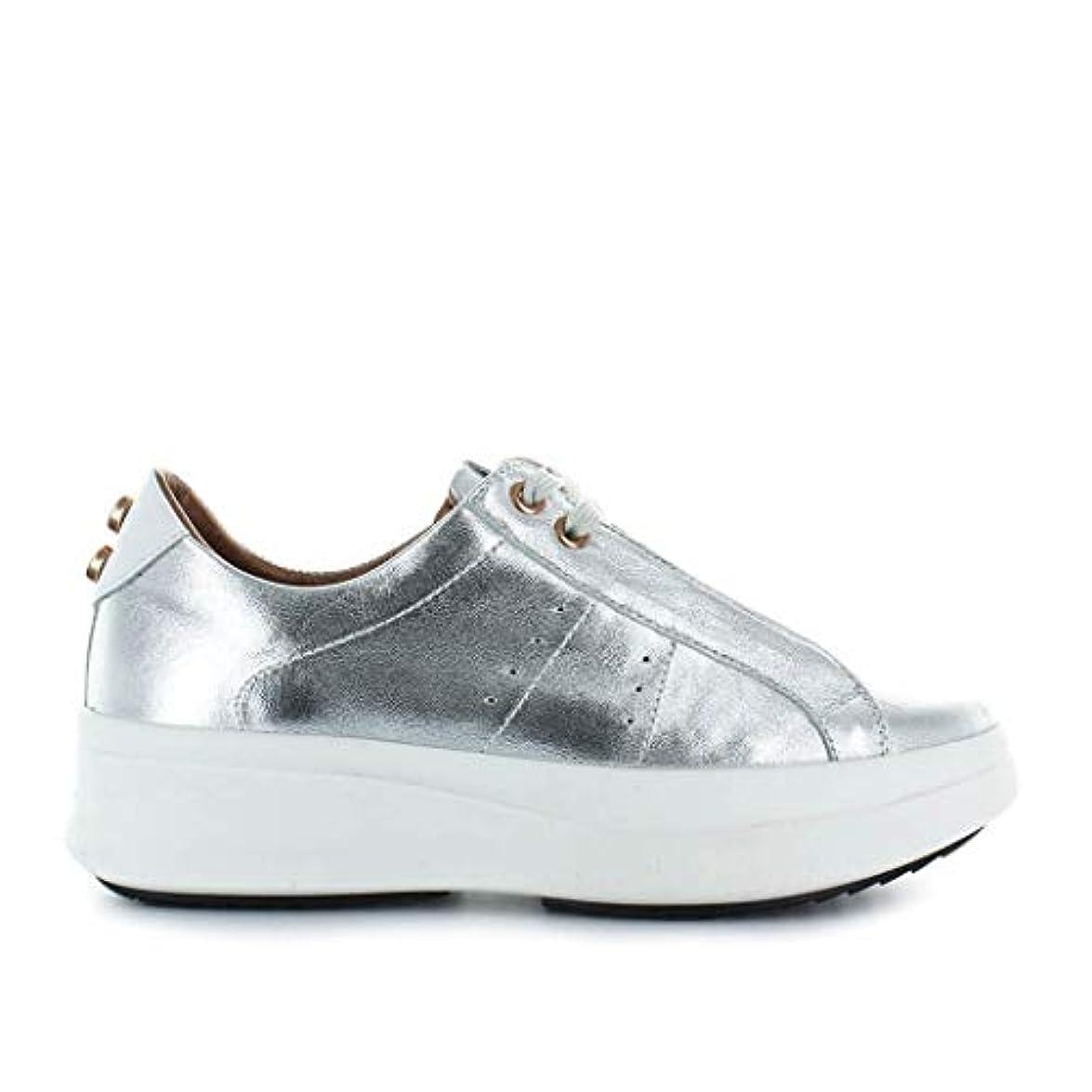 Sneakers Argento Smith Pelle A43143silver Alexander Donna
