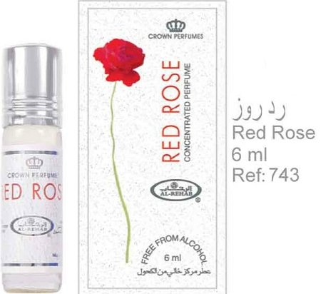 Red Rose - 6ml (.2 oz) Perfume Oil by AlRehab