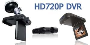 """CAR ACCIDENT VIDEO CAMERA RECORDER DASH BOARD DVR 720P HD 2.5"""" LCD"""