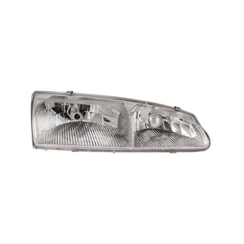 New Mercury Cougar Headlight - Headlights Depot Replacement for Ford Mercury Ford Thunderbird T-Brid/Cougar Headlight Headlamp Passenger Side New