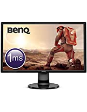 "BenQ GL2460BH – Monitor Gaming de 24"" Full HD (1920x1080, LED, 16:9, HDMI, DVI, VGA, 1ms, 75Hz, altavoces, Eye-care, Sensor Brillo Inteligente, Flicker-free, Low Blue Light) color negro"