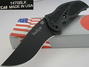 Kershaw Black Storm Knife Manual Opening Framelock 1470BLK