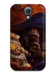 Galaxy S4 Hard Back With Bumper Silicone Gel Tpu Case Cover Wow Arthas Wow