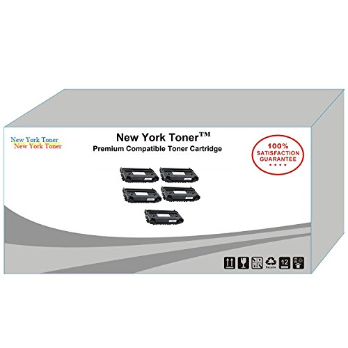 (New York TonerTM New Compatible 5 Pack 6R1218 High Yield Toner for Xerox - FaxCentre F116 | F116L . -- Black)