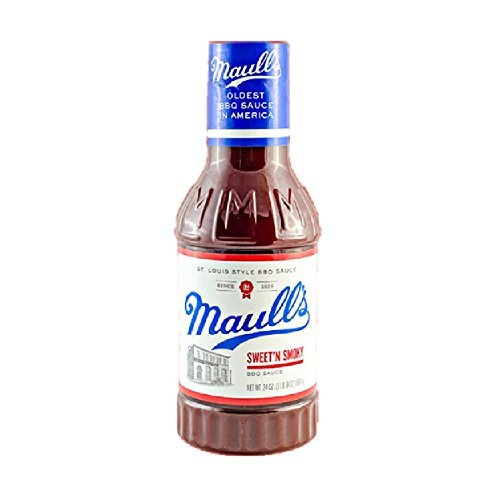 Style Barbeque Sauce (Maull's Sweet 'N Smoky Barbecue Sauce, 24 Ounce, St Louis Style BBQ Sauce)