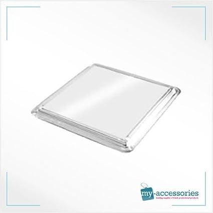 20 premium quaity blank coasters for cross stitch 80mm x 80mm insert size