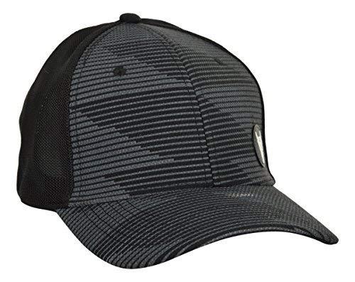 68a186d1b48 BlackBuck Men s Grey   Black Printed Adjustable Hip hop Cap  Amazon ...