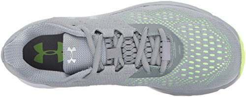 Under Armour Ladys Belasteter Rebell Stahl / Quirky Lime / Metallic Silber