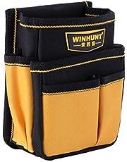 DOITOOL Bolsa de Herramientas con Clip para Cinturón Oxford Cloth Electrician Tool Bouch Multifunction Tools Bag Waist Belt Pouch