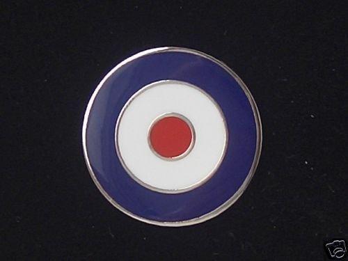MOD Target Pin Badge