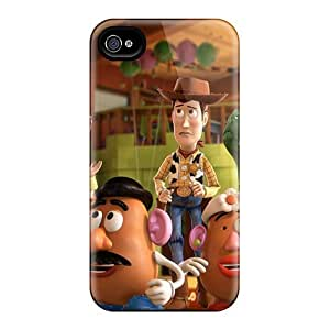 VIVIENRowland Iphone 4/4s Shock-Absorbing Hard Cell-phone Case Unique Design High-definition Toy Story Skin [DMs15357mnxW]