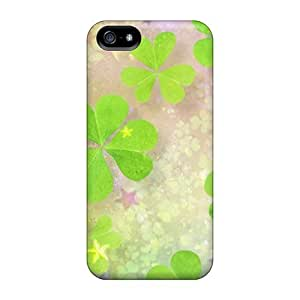 AlexandraWiebe Premium Protective Hard For HTC One M8 Phone Case Cover - Nice Design - Clover Leaves 2