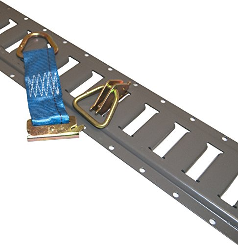 """E Track Combo Deal 8+8+8+8 with D-Rings and 6"""" E-Track for sale  Delivered anywhere in USA"""