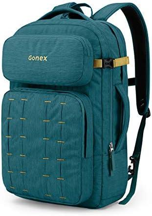 Gonex Travel Backpack Laptop Daypack Bookbag for Men Women for School College Work Business 30L