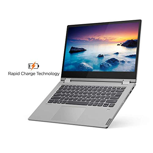 Lenovo Ideapad C340 AMD Ryzen 5 3500U 2 in 1 Convertible 14 inch FHD Laptop (8GB/1TB SSD/Windows 10/MS Office/Platinum Grey/1.65Kg), 81N6006PIN