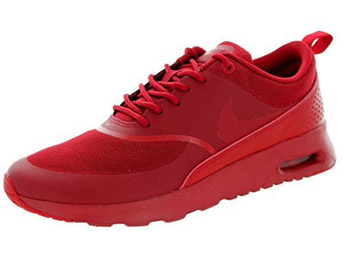 NIKE University Max Sneakers Gym Black Red Women��s Top Thea Red Air Low rxrwvaB