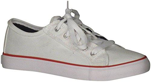 Gotta Flurt Classique Sneakers De Mode Ii Femmes Blanc / Bleu / Rouge 11 B (m) Us