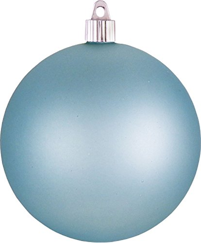 Christmas By Krebs Jumbo Commercial Shatterproof UV Resistant Plastic Christmas Ball Ornament Wedding Party Holiday Decor, 4.75