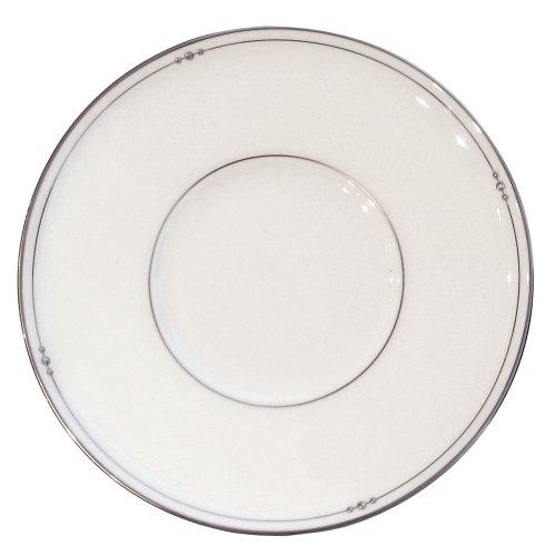 Royal Doulton Precious Platinum 6-Inch Bread Plate