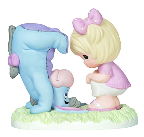 Precious Moments Disney Showcase Collection, Some Days Have Their Ups And Downs, Bisque Porcelain Figurine, 142000
