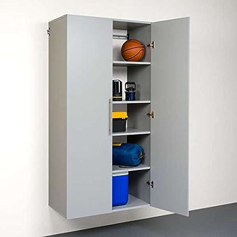 Storage Cabinet / Garage Storage Cabinets Light Gray Laminate Finish 36-inch Large Storage & Amazon.com: Storage Cabinet / Garage Storage Cabinets Light Gray ...