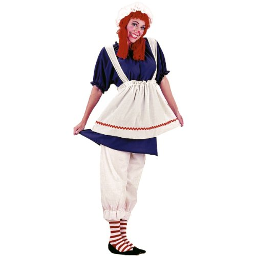 Plus Size Rag Doll Costume - -