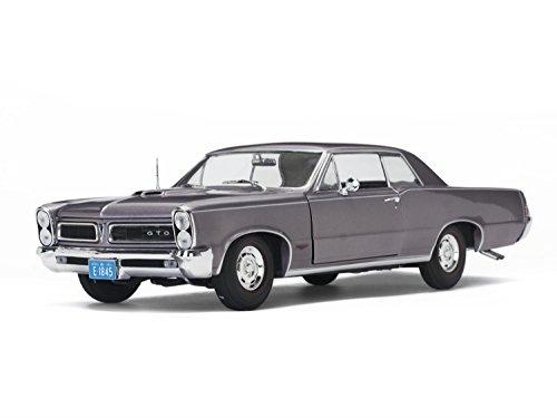 Iris Mist (1965 Pontiac GTO Iris Mist 1/18 Diecast Model Car by Sunstar 1845)