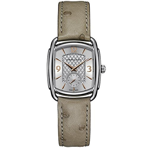 Ladies' Hamilton American Classic Bagley Quartz Leather Strap Watch