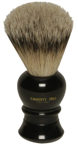 Truefitt & Hill Ebony Regency Super Badger Hair Shave Brush