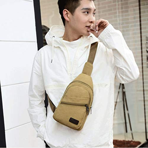 3 Size Messenger S Casual Small Breast color 1 Rxf Men's Canvas Bag n8S6HRHWcz