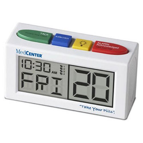 Medcenter Talking Alarm Clock And Medication Reminder