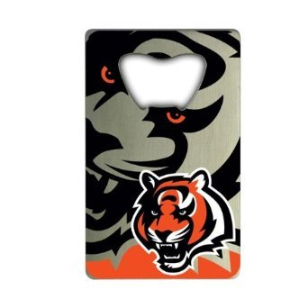 NFL Cincinnati Bengals Credit Card Style Bottle Opener - Card Bengals