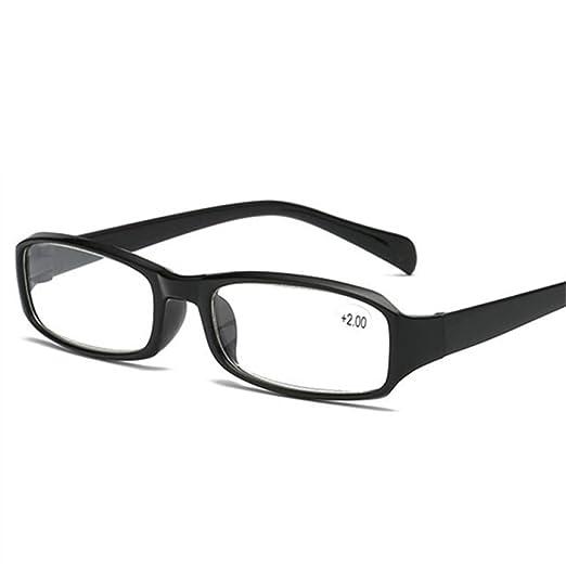 Yangjing-hl Hombres Gafas de Lectura de Montura de aleación ...