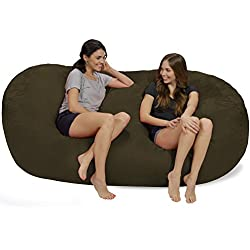 Chill Sack 7.5-Foot Micro Fiber Giant Bean Bag Chairs