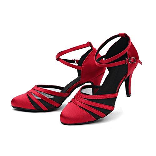 Tanzschuhe Damen Tanzschuhe Rot Minitoo Tanzschuhe Rot Damen Minitoo Minitoo Damen PqvSn