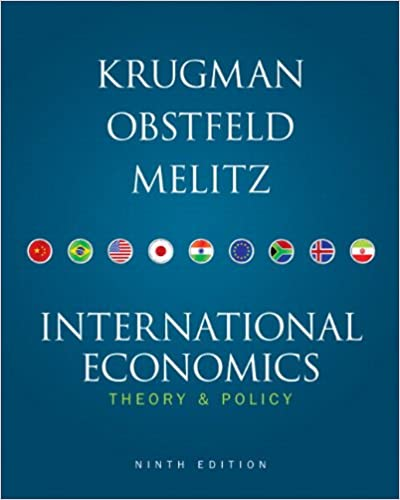 9th Edition International Economics