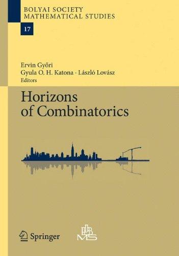 Horizons of Combinatorics (Bolyai Society Mathematical Studies)